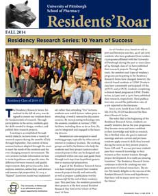 Residents'Roar_Fall2014-Cover